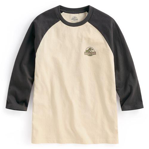 Jurassic World拉克蘭七分袖印花T恤-08-男