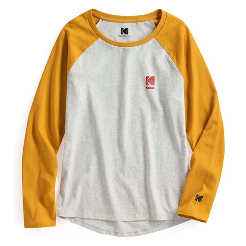 KODAK拉克蘭長袖印花T恤-05-女