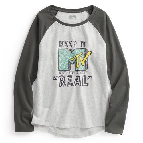 MTV拉克蘭長袖印花T恤-02-女