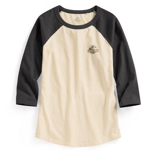 Jurassic World拉克蘭七分袖印花T恤-08-女