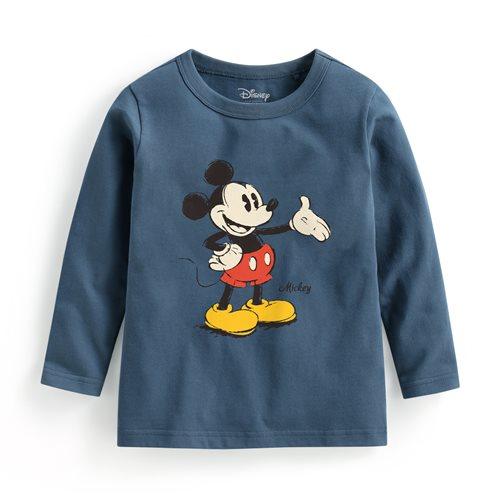 迪士尼系列長袖印花T恤-04-童