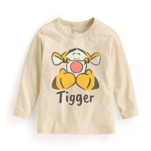 迪士尼系列長袖印花T恤-09-童