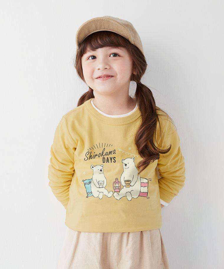Shirokuma Days長袖印花T恤-03-童