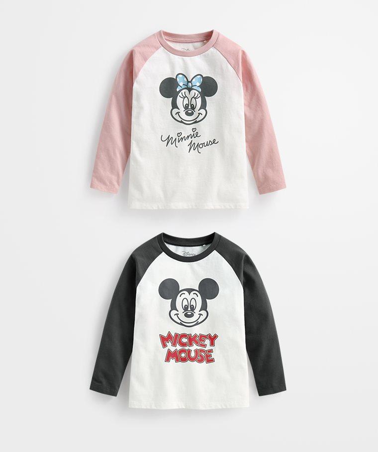 迪士尼系列拉克蘭長袖印花T恤-10-童