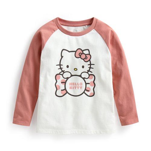 Hello Kitty拉克蘭長袖印花T恤-03-童