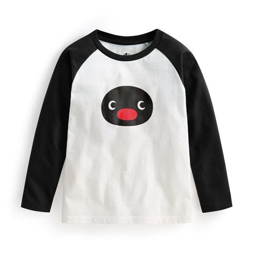 PINGU拉克蘭長袖印花T恤-02-童