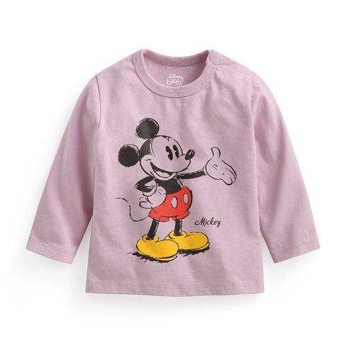迪士尼系列長袖印花T恤-04-Baby