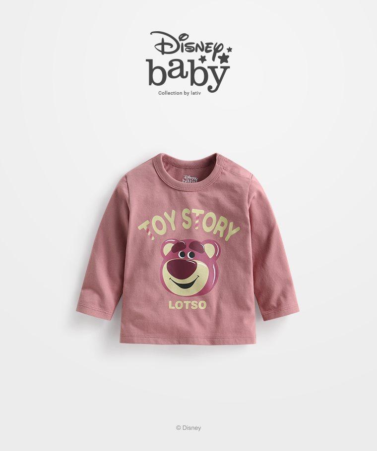 皮克斯系列長袖印花T恤-01-Baby