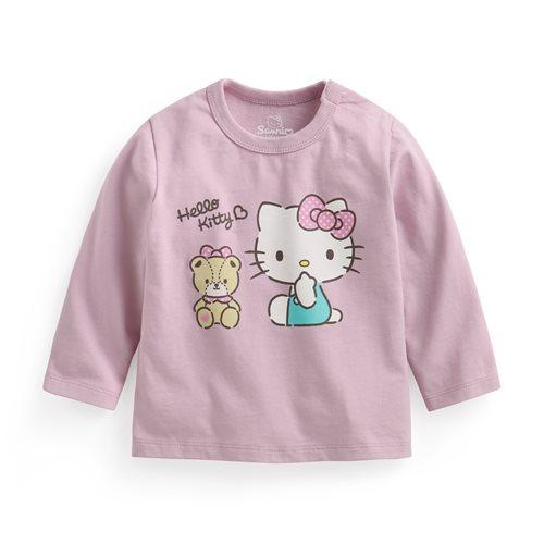 Hello Kitty長袖印花T恤-02-Baby