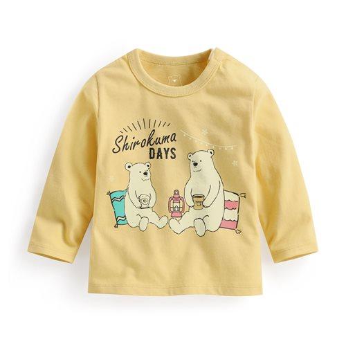 Shirokuma Days長袖印花T恤-03-Baby