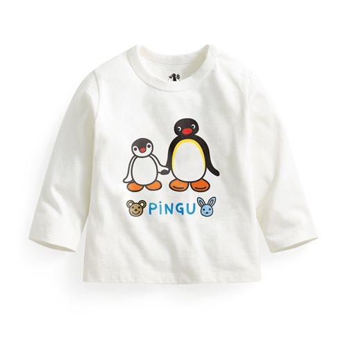 PINGU長袖印花T恤-03-Baby