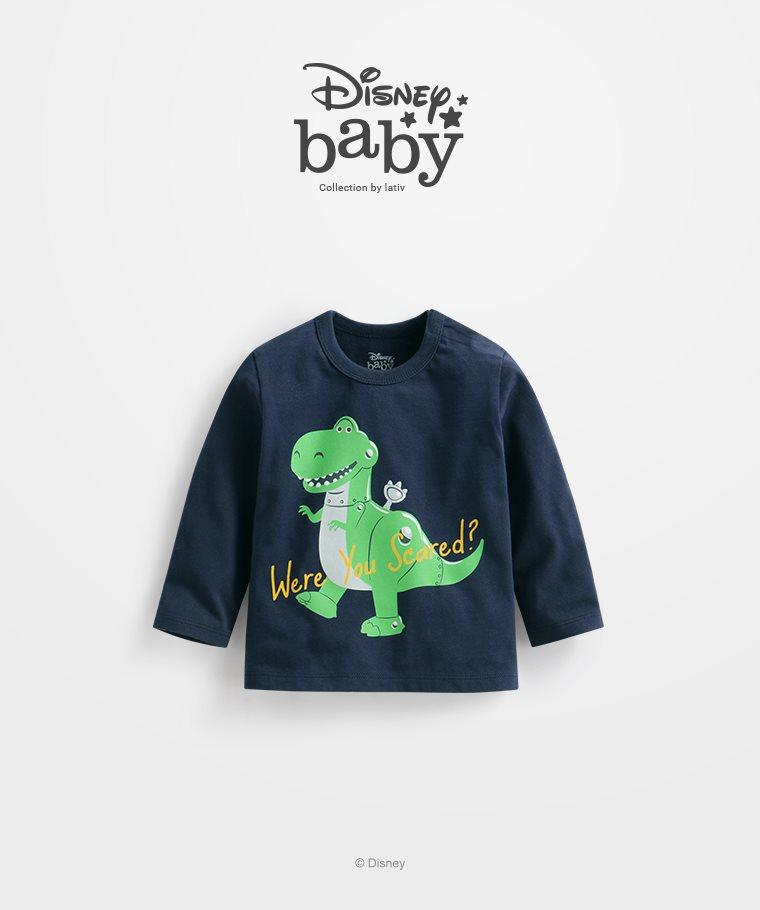 皮克斯系列長袖印花T恤-02-Baby
