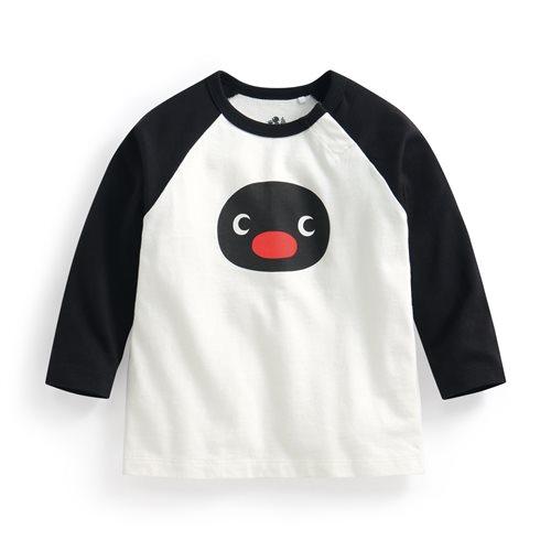 PINGU拉克蘭長袖印花T恤-02-Baby