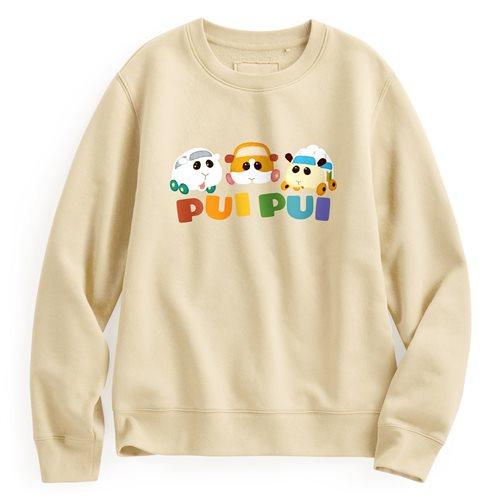 天竺鼠車車刷毛圓領衫-03-女